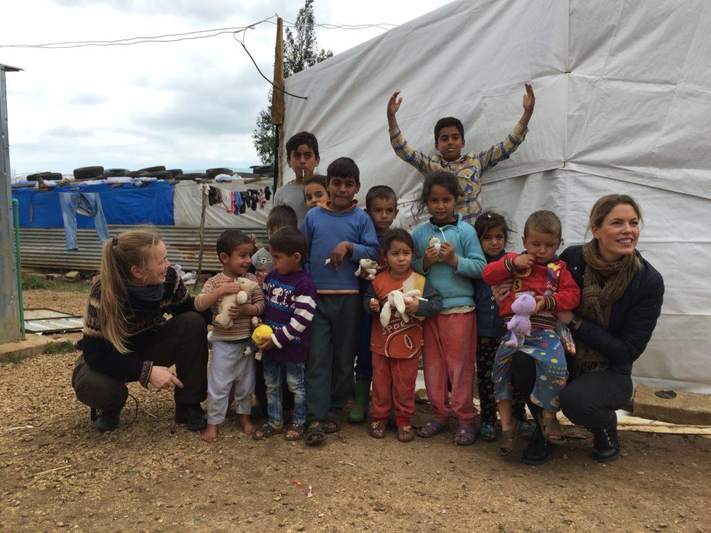 Flyktningebarna
